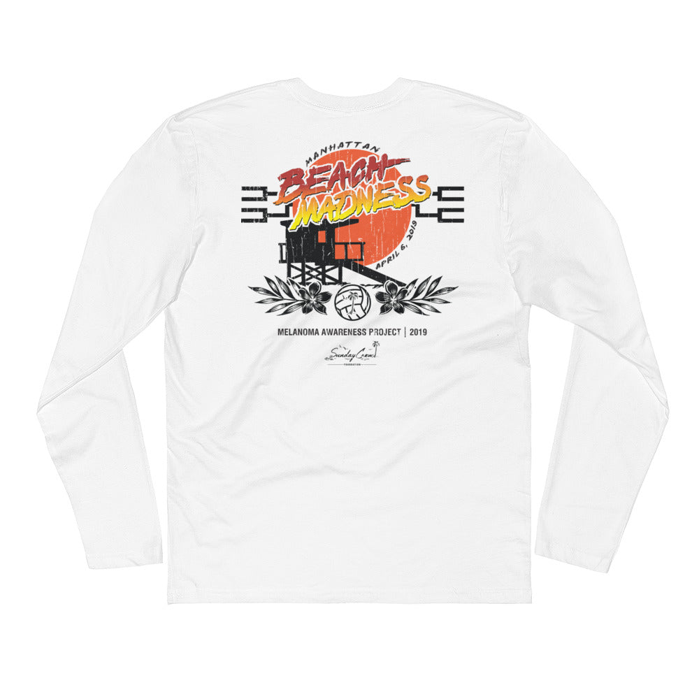 Sunday Crew MB Madness Long Sleeve Fitted Crew