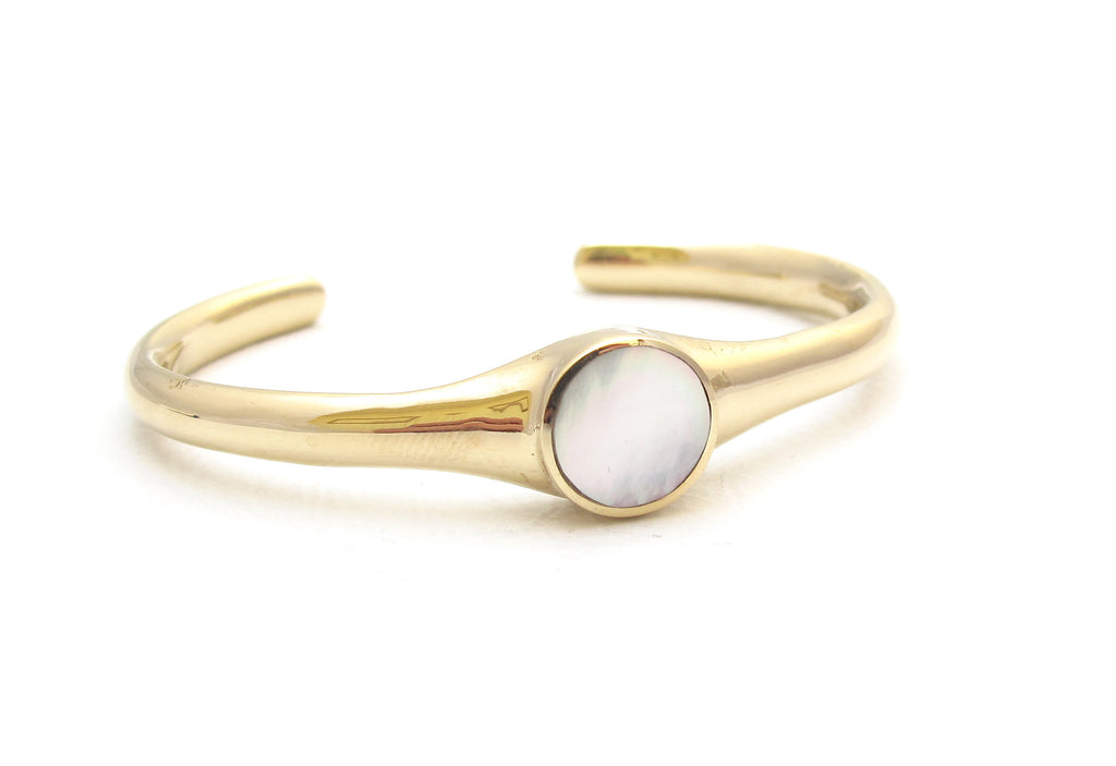Core Mother of pearl cuff bracelet