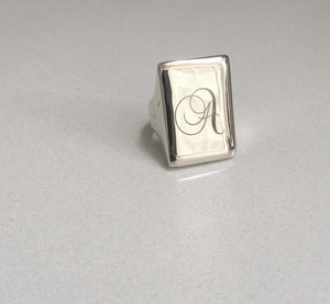 Classic signet, silver +more options
