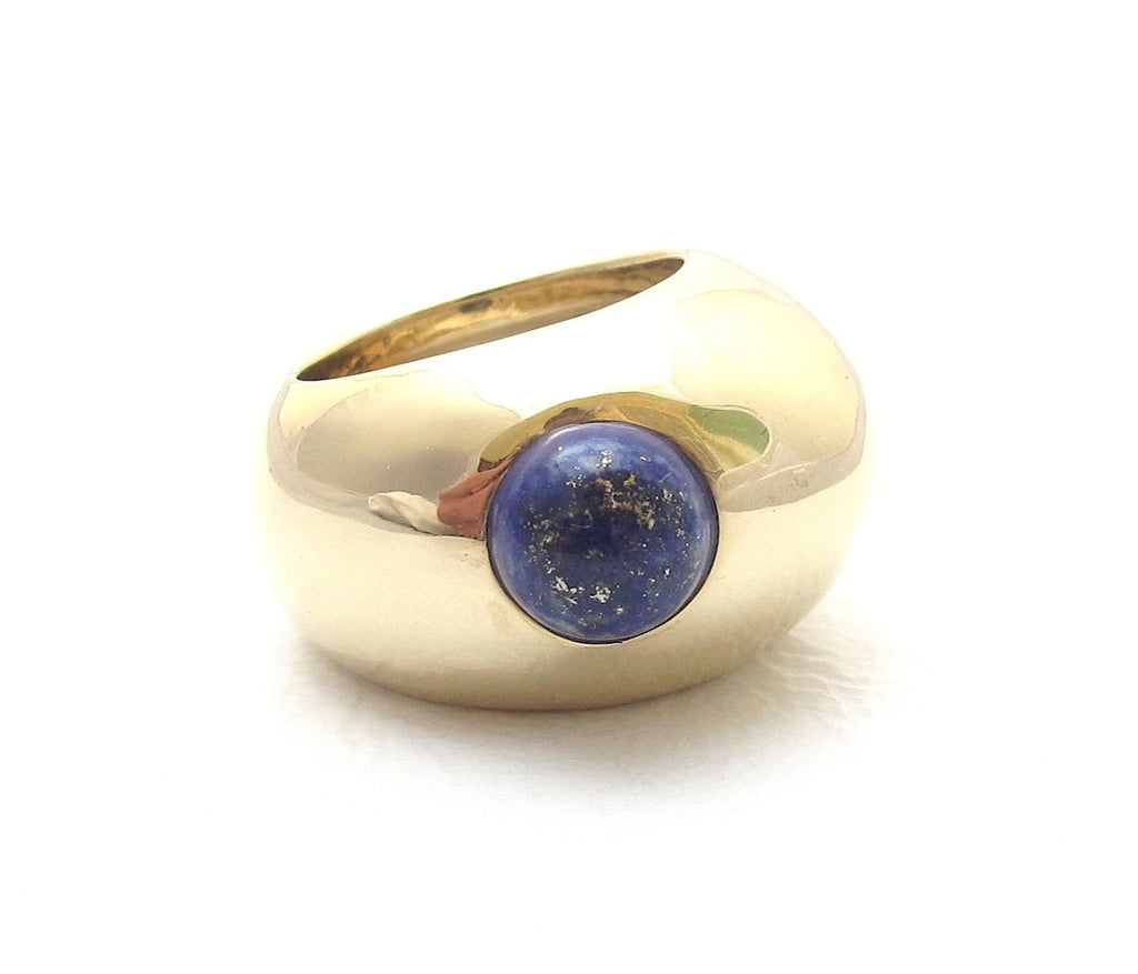 Pebble Lapis ring