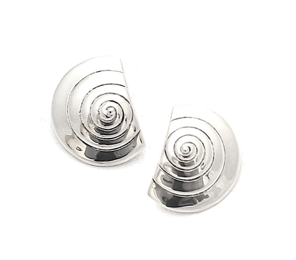 Turbo studs, silver