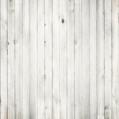 Canvas White Wood Floor Backdrop