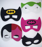 Batman Characters Masks For Children Party Favor Dress Up Lot option