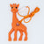 Giraffe Pendant Silicone Teething Necklace For Moms and Teething And Nursing Babies BPA Free Chewable Teething Necklace