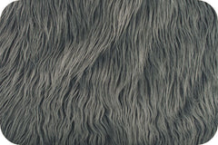 Charcoal Mongolian Faux Fur