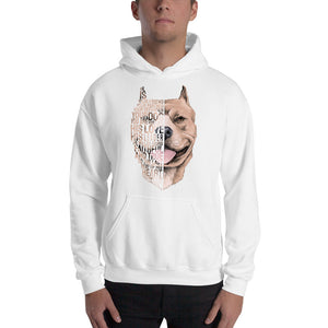 Pitbull - Best Friend Men Hooded Sweatshirt