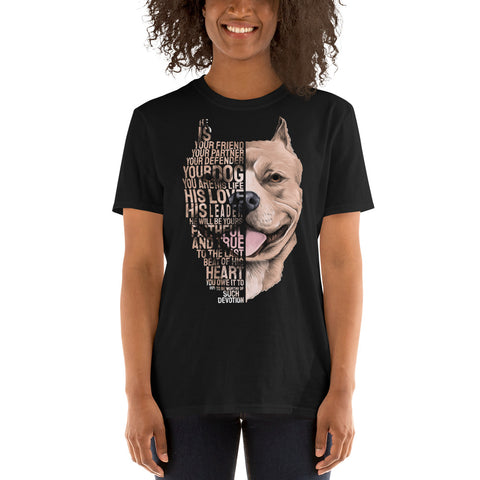 Pitbull - Best Friend Women T-Shirt