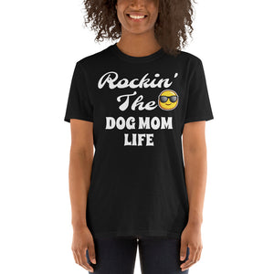 Rockin The DOG MOM LIFE T-Shirt