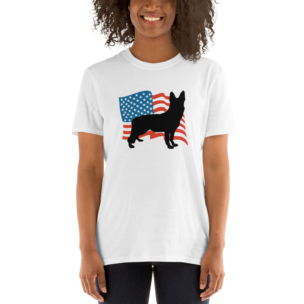 USA German Shepherds Women T-Shirt