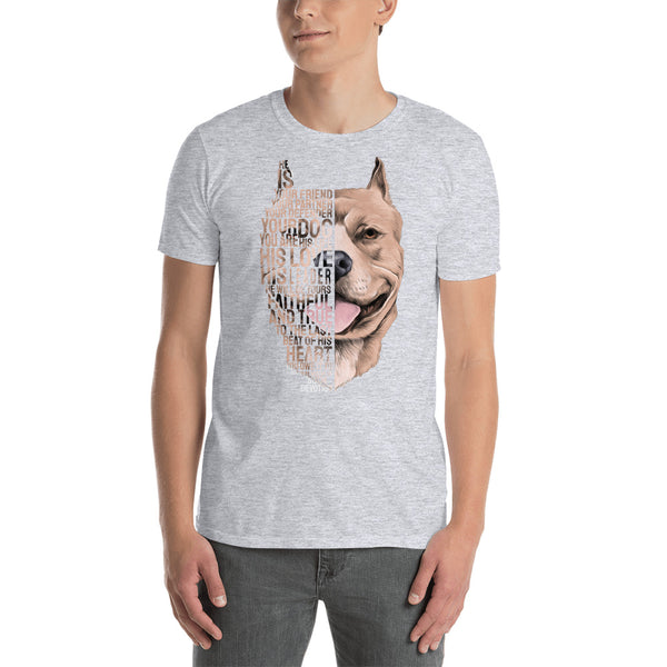 Pitbull - Best Friend Men T-Shirt