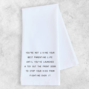 Living Your Best Parenting Life - Tea Towel