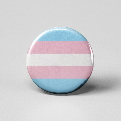 Transgender Flag Pinback Button