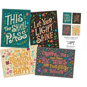 Positivity Note Card Set