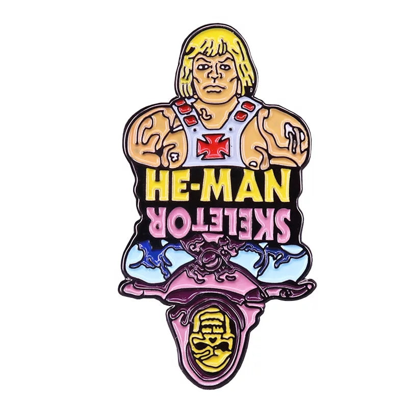 He-Man Skeletor Enamel Pin