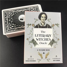 Load image into Gallery viewer, The Literary Witches Oracle Tarot Card Set