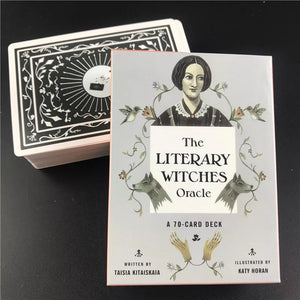 The Literary Witches Oracle Tarot Card Set