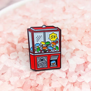Bubblegum Machine Enamel Pin