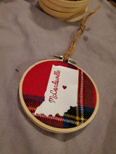 Load image into Gallery viewer, Flannel Indiana Ornaments - Time & Again Shop