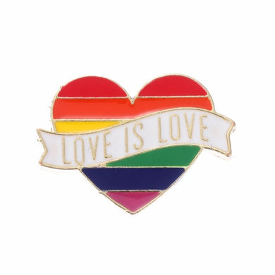 Love Is Love Enamel Pin
