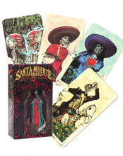 Load image into Gallery viewer, Santa Muerte Tarot Card Set