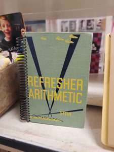 Refresher Arithemetic Repurposed Book Journal