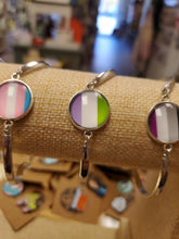 Load image into Gallery viewer, Genderqueer Pride Bracelet
