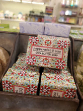 Load image into Gallery viewer, Peppermint & Aloe Shea Butter Soap