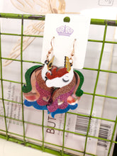 Load image into Gallery viewer, Acrylic Unicorn Earrings