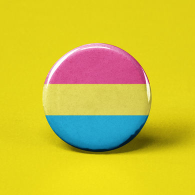 Pansexual Flag Pinback Button