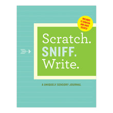 Load image into Gallery viewer, Scratch. Sniff. Write. Journal - Time & Again Shop