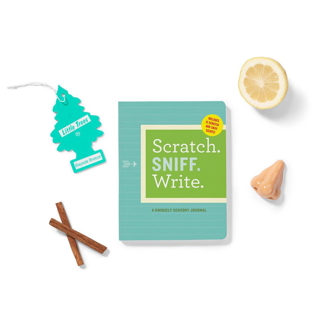 Scratch. Sniff. Write. Journal - Time & Again Shop