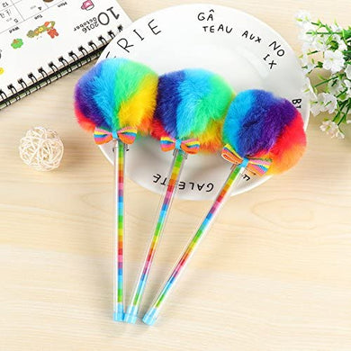 Rainbow Puff Gel Pen