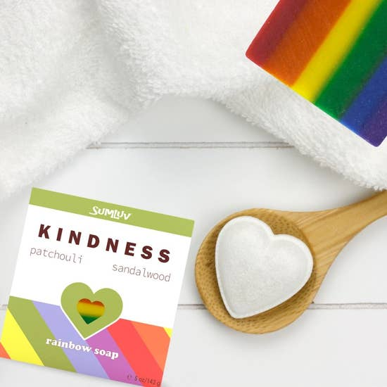 KINDNESS Rainbow Soap
