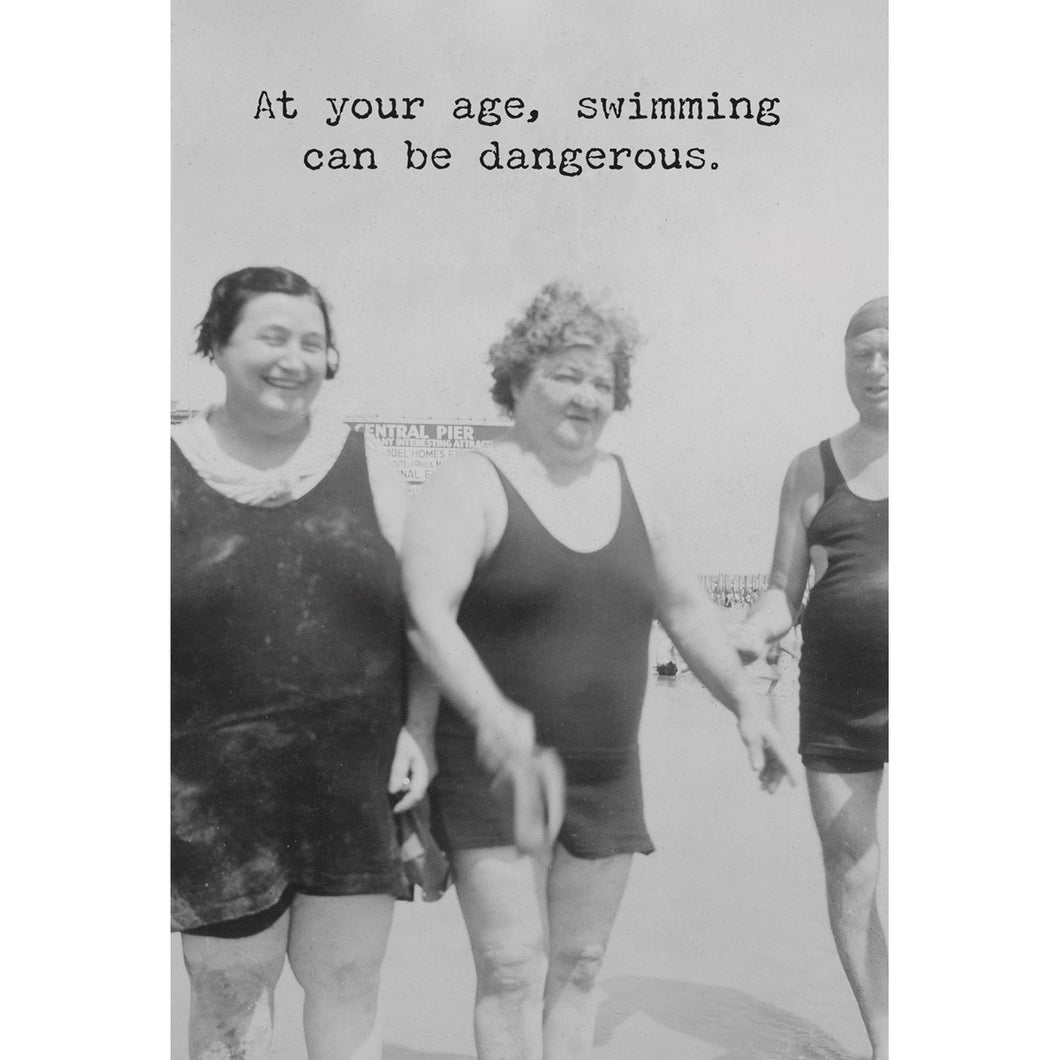 At Your Age Swimming Card