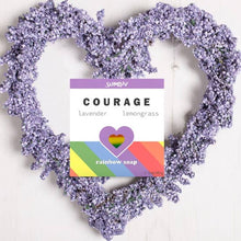 Load image into Gallery viewer, COURAGE Rainbow Soap