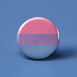 Bisexual Flag Pinback Button