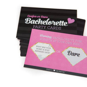 Bachelorette Party Scratch Game