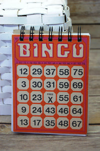 Bingo Notebook - Time & Again Shop