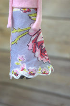 Load image into Gallery viewer, Repurposed Handkerchief Clothespin Doll Ornament