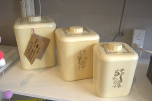 Set of Vintage Canisters