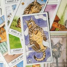 Load image into Gallery viewer, Cat Tarot