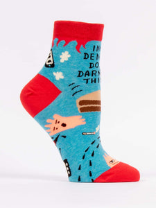 Inner Demons Do The Darndest Things Women's Ankle Socks - Time & Again Shop