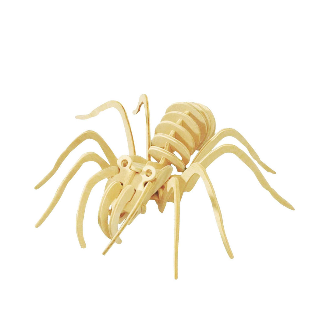 3D Wooden Spider Puzzle