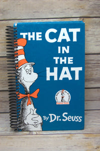 The Cat in The Hat Repurposed Book Journal