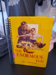 The Enormous Egg Repurposed Book Journal