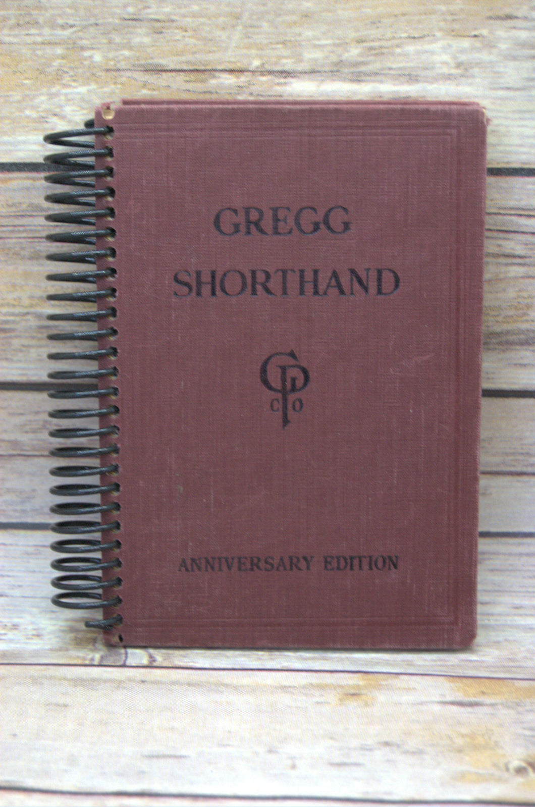 Gregg Shorthand Repurposed Book Journal