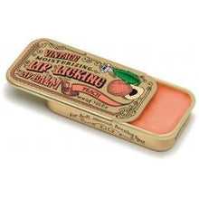 Load image into Gallery viewer, Peach Retro Lip Licking Balm Slider Tin