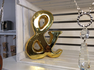 Gold Ampersand - Time & Again Shop