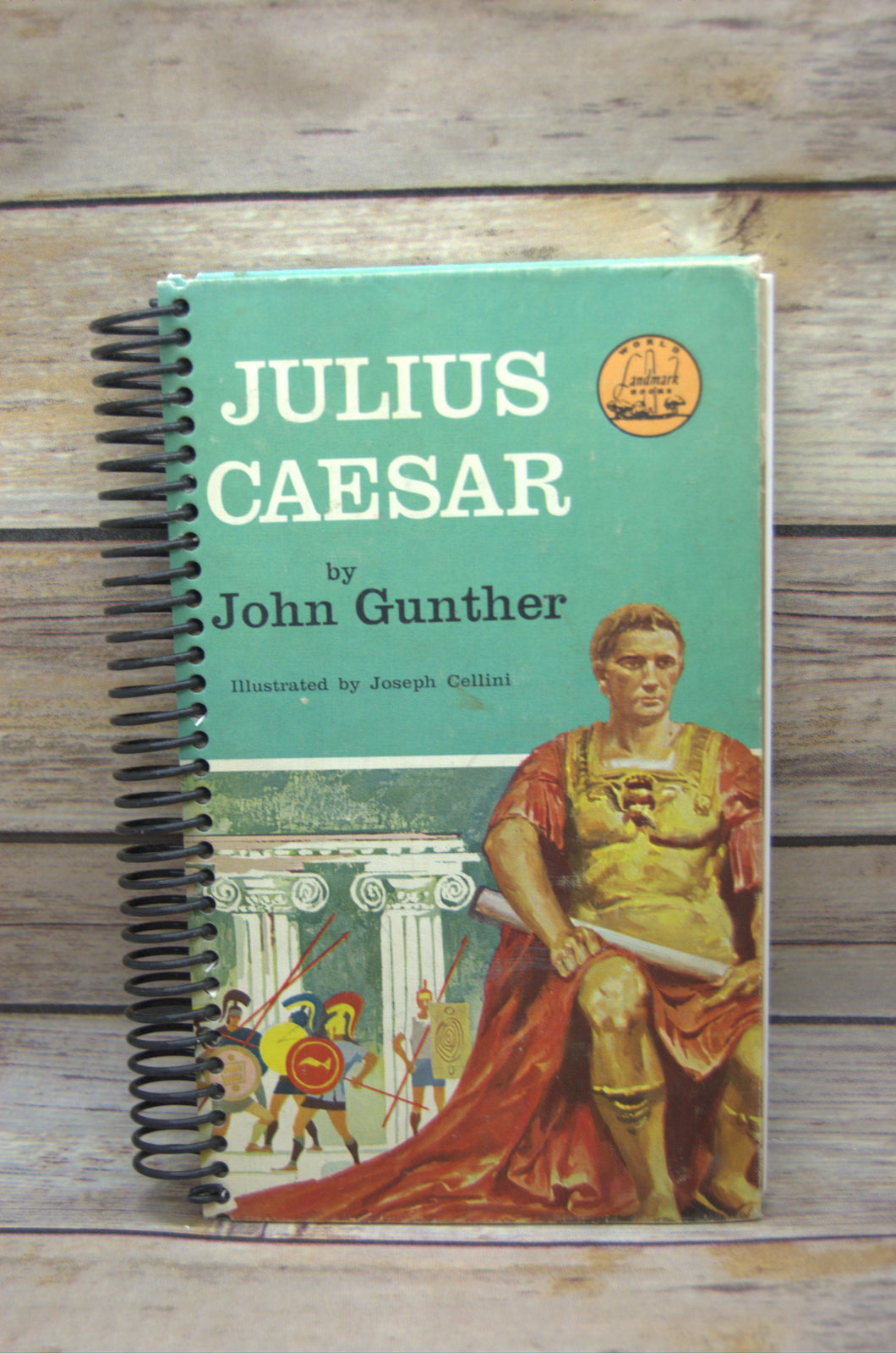 Julius Caesar Repurposed Book Journal