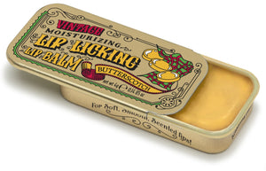 Butterscotch Retro Lip Licking Balm Slider Tin